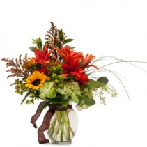 Autumn Breeze Fresh Flower Arrangement