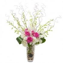 Grace and Beauty Fresh Flower Arrangement