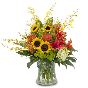 Harvest Wisp Fresh Flower Arrangement in Saint Petersburg, FL | ABSOLUTELY BEAUTIFUL FLOWERS