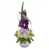 Lush and Lavender Fresh Flower Arrangement