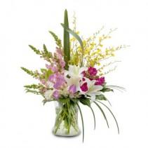 Unique Gathering Fresh Flower Arrangement