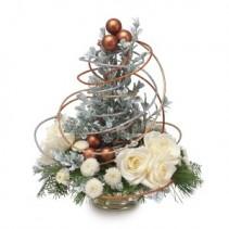 Whimsical Wonderland Christmas Tree Centerpiece