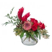 Touch of Tropics Fresh Flower Arrangement