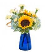 Good Morning Sunshine Fresh Flower Arrangement