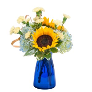Good Morning Sunshine Fresh Flower Arrangement