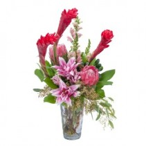 Exotic Beauty Fresh Flower Arrangement