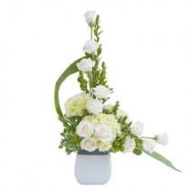 Elegant Flowing Love Tribute Fresh Flower Arrangement