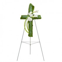 Elegant Love Graceful Cross Standing Spray