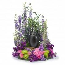 Forever Cherished Surround Fresh Flower Arrangement
