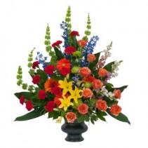 Treasured Celebration Urn Fresh Flower Arrangement