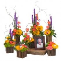 Surround Him with Love - As Shown Fresh Flower Arrangement