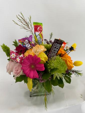 To greater memories Floral arrangement
