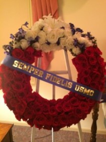 To Honor Fallen Hero Wreath