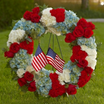 To Honor One's Country Wreath SYMPATHY