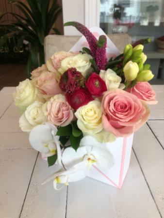 Summer Love Flower Envelope  Assorted Flowers
