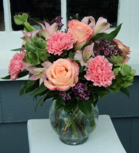 To The Moon And Back Vase Arrangement in North Adams, MA | MOUNT WILLIAMS GREENHOUSES INC