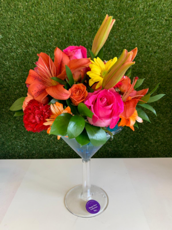 Cheers  with flowers II