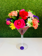 Cheers with flowers I