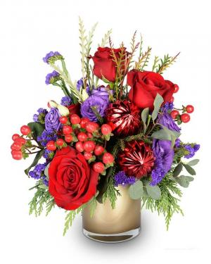 Toasting the Holidays Arrangement in Fort Smith, AR | EXPRESSIONS FLOWERS, LLC