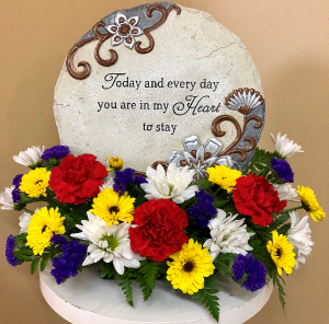 Today and Every Day Stone in Springfield, IL | FLOWERS BY MARY LOU