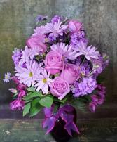 Together at Twilight Bouquet  Vased