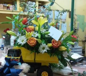 Tonka Boy! Arrangement in Tampa, FL | Island Flowers