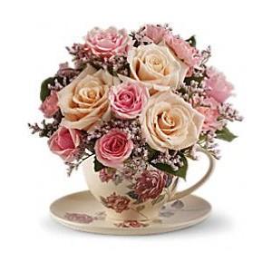Too Cute Teacup GFFG Arrangement