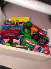 Tool & Snack Basket Men's Gifts
