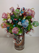 Tootsie N Pop Bouquet Candy Bar bouquet