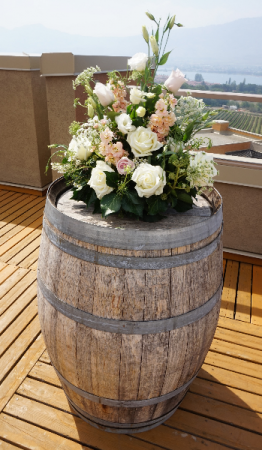 Top of the Barrel Wedding Ceremony
