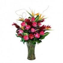 Tropical Passion Vase