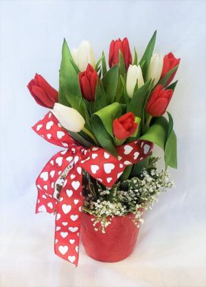 Totally Tulips Valentines in Virginia Beach, VA | FLOWER LADY