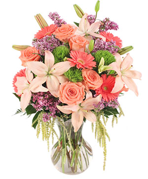 Touch Her Heart Arrangement in Ticonderoga, NY | The Country Florist And Gifts