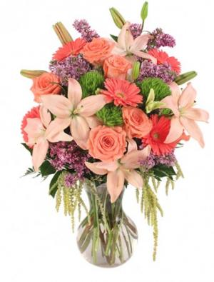 Touch Her Heart Arrangement in Rising Sun, MD | Perfect Petals Florist & Decor