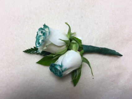 Touch of Color Boutonniere