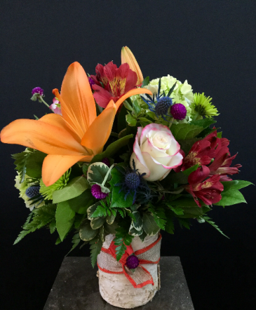 Touch of fall Cylinder arrangement
