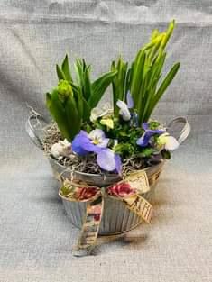 Touch of Spring   in Fowlerville, MI | ALETA'S FLOWER SHOP