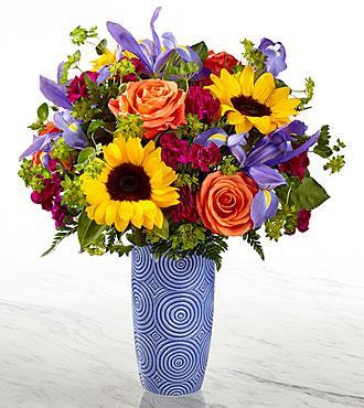 Touch of Spring Vase Arrangement