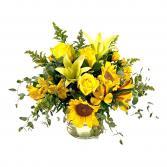 Sunny Side Up Flower Arrangement