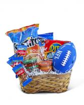 Touchdown Basket Gift Basket
