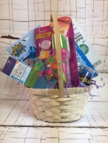 "Toy Gift Basket for Boy Great ""Get Well Soon"" gift!"