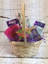 """Toy Gift Basket for Girl Great """"Get Well Soon"""" gift!"""