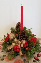 Tradional Christmas arrangement Christmas Centerpiece