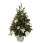 Traditional Boxwood Centerpiece