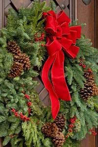 Traditional Christmas Wreath Christmas Arrangement