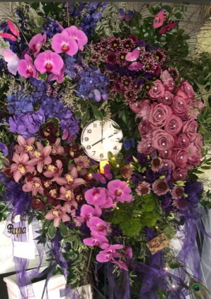 Traditional Clock  in Ozone Park, NY   Heavenly Florist