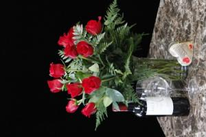 Traditional Long Stem Dozen Red Roses Bouquet Arrangement in Spokane, WA | RITTER'S GARDEN AND GIFT
