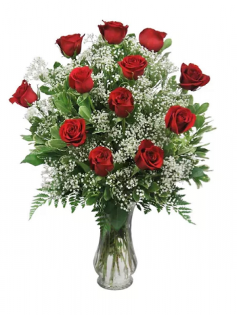 Traditional Dozen Red Roses   FH14-4