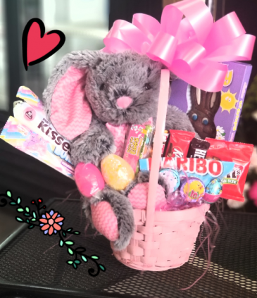 Traditional Easter Basket  BASKET FILLED WITH EASTER GOODIES