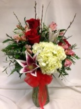 Traditional Endless Romance  Vase Arrangement